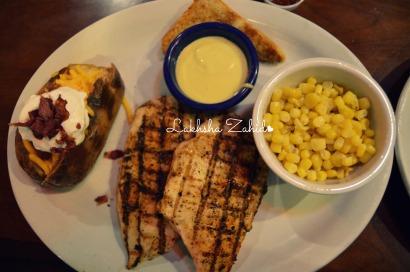 Cajun Chicken Platter