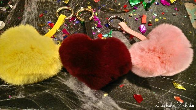 Heart Poms