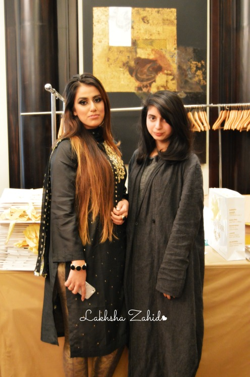 With the gorgeous Agha Noor
